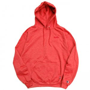 <img class='new_mark_img1' src='//img.shop-pro.jp/img/new/icons5.gif' style='border:none;display:inline;margin:0px;padding:0px;width:auto;' />HORRIBLE'S DIRTY SCRIPT HOODED SWEATSHIRT / SCARLET HEATHER (ホリブルズ フーディー/スウェット)