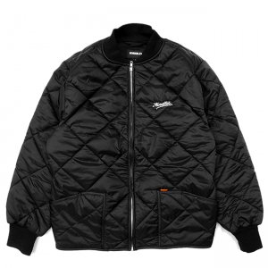 <img class='new_mark_img1' src='//img.shop-pro.jp/img/new/icons5.gif' style='border:none;display:inline;margin:0px;padding:0px;width:auto;' />HORRIBLE'S DIRTY SCRIPT QUILTED JACKET / BLACK (ホリブルズ キルティングジャケット)
