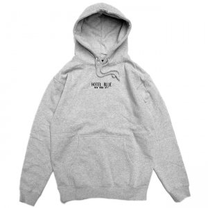 <img class='new_mark_img1' src='//img.shop-pro.jp/img/new/icons5.gif' style='border:none;display:inline;margin:0px;padding:0px;width:auto;' />HOTEL BLUE LOGO HOODIE / HEATHER GREY (ホテルブルー フーディー/パーカー/スウェット)