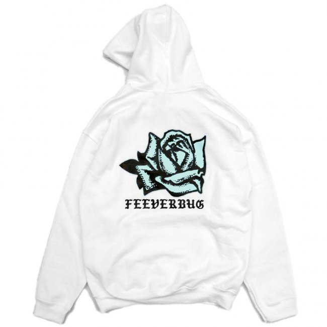 <img class='new_mark_img1' src='//img.shop-pro.jp/img/new/icons1.gif' style='border:none;display:inline;margin:0px;padding:0px;width:auto;' />FEEVERBUG COFFEE BREAK HOODIE / WHITE (フィバーバグ パーカー/スウェット)