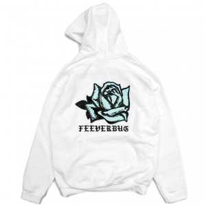 <img class='new_mark_img1' src='https://img.shop-pro.jp/img/new/icons1.gif' style='border:none;display:inline;margin:0px;padding:0px;width:auto;' />FEEVERBUG COFFEE BREAK HOODIE / WHITE (フィバーバグ パーカー/スウェット)