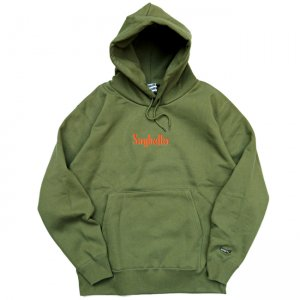 <img class='new_mark_img1' src='//img.shop-pro.jp/img/new/icons5.gif' style='border:none;display:inline;margin:0px;padding:0px;width:auto;' />SAYHELLO CLASSIC LOGO HOODED PARKA / OLIVE (セイハロー パーカー/スウェット)