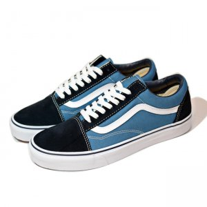 <img class='new_mark_img1' src='//img.shop-pro.jp/img/new/icons5.gif' style='border:none;display:inline;margin:0px;padding:0px;width:auto;' />VANS OLD SKOOL / NAVY (バンズ/ヴァンズ オールドスクール スニーカー)