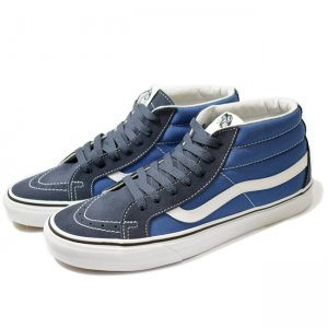 <img class='new_mark_img1' src='//img.shop-pro.jp/img/new/icons5.gif' style='border:none;display:inline;margin:0px;padding:0px;width:auto;' />VANS SK8-MID REISSUE / PARISIAN NIGHT/TRUE NAVY(バンズ/ヴァンズ スケートミッド スニーカー)