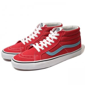 <img class='new_mark_img1' src='//img.shop-pro.jp/img/new/icons5.gif' style='border:none;display:inline;margin:0px;padding:0px;width:auto;' />VANS SK8-MID REISSUE / ROCOCCO RED/ADRIATIC BLUE(バンズ/ヴァンズ スケートミッド スニーカー)