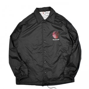 <img class='new_mark_img1' src='//img.shop-pro.jp/img/new/icons5.gif' style='border:none;display:inline;margin:0px;padding:0px;width:auto;' />HELLRAZOR OPENING LOGO COACH JACKET / BLACK (ヘルレイザー コーチジャケット)
