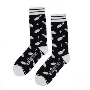 <img class='new_mark_img1' src='//img.shop-pro.jp/img/new/icons5.gif' style='border:none;display:inline;margin:0px;padding:0px;width:auto;' />BENNY GOLD STRIKE SOCKS / BLACK (ベニーゴールド ソックス)