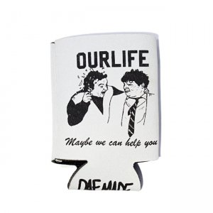 <img class='new_mark_img1' src='//img.shop-pro.jp/img/new/icons5.gif' style='border:none;display:inline;margin:0px;padding:0px;width:auto;' />【10%OFF】OUR LIFE HELP COOZIE / WHITE (アワーライフ クージー)
