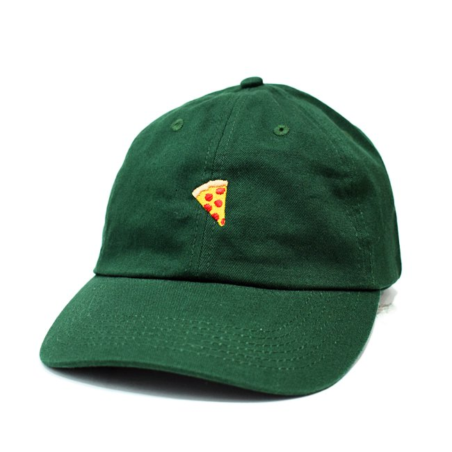 <img class='new_mark_img1' src='//img.shop-pro.jp/img/new/icons5.gif' style='border:none;display:inline;margin:0px;padding:0px;width:auto;' />PIZZA SKATEBOARDS EMOJI DELIVERY POLO CAP / FOREST GREEN (ピザスケートボード ポロキャップ)