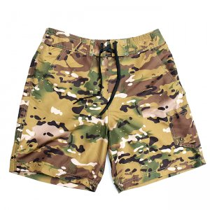 <img class='new_mark_img1' src='//img.shop-pro.jp/img/new/icons5.gif' style='border:none;display:inline;margin:0px;padding:0px;width:auto;' />CAMOUFLAGE SWIM SHORT PANTS / MULTI CAMO (カモフラージュ柄スイムショーツ/ショートパンツ)