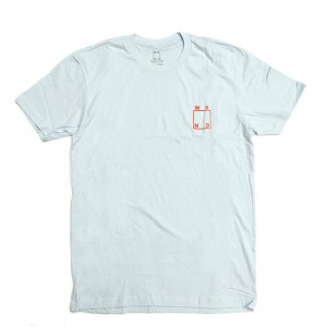 <img class='new_mark_img1' src='//img.shop-pro.jp/img/new/icons5.gif' style='border:none;display:inline;margin:0px;padding:0px;width:auto;' />【20%OFF】WKND LOGO TEE / LIGHT BLUE (ウィークエンド Tシャツ)