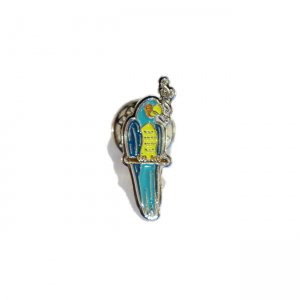 <img class='new_mark_img1' src='//img.shop-pro.jp/img/new/icons5.gif' style='border:none;display:inline;margin:0px;padding:0px;width:auto;' />Good Worth & Co. SMOKING PARROT PINS (アクセサリー ピンズ)