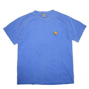 SAYHELLO Yin and Yang Embroided GARMENT DYE TEE / FLO BLUE (セイハロー Tシャツ)