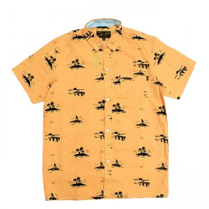 <img class='new_mark_img1' src='//img.shop-pro.jp/img/new/icons5.gif' style='border:none;display:inline;margin:0px;padding:0px;width:auto;' />BENNY GOLD FLORIDA SUNSET SHIRT/ SQUASH (ベニーゴールド 半袖シャツ)