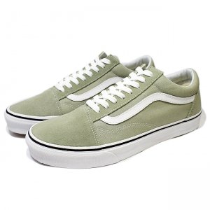 <img class='new_mark_img1' src='//img.shop-pro.jp/img/new/icons5.gif' style='border:none;display:inline;margin:0px;padding:0px;width:auto;' />VANS OLD SKOOL / DESERT SAGE/TRUE WHITE (バンズ/ヴァンズ オールドスクール スニーカー)