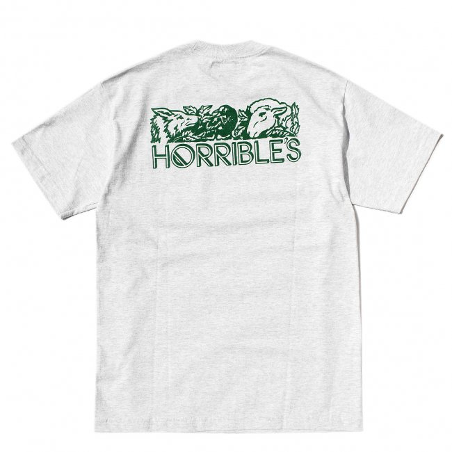 <img class='new_mark_img1' src='//img.shop-pro.jp/img/new/icons5.gif' style='border:none;display:inline;margin:0px;padding:0px;width:auto;' />HORRIBLE'S LIFE POCKET T-SHIRT / ASH (ホリブルズ Tシャツ)