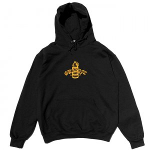 <img class='new_mark_img1' src='https://img.shop-pro.jp/img/new/icons5.gif' style='border:none;display:inline;margin:0px;padding:0px;width:auto;' />OUR LIFE IGNITION BARREL PULLOVER HOODIE  / BLACK (アワーライフ フーディ/パーカー/スウェット)
