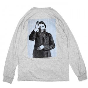 <img class='new_mark_img1' src='//img.shop-pro.jp/img/new/icons5.gif' style='border:none;display:inline;margin:0px;padding:0px;width:auto;' />THEORIES RUSPUTIN L/S TEE / HEATHER GREY(セオリーズ ロングスリーブTシャツ/長袖)