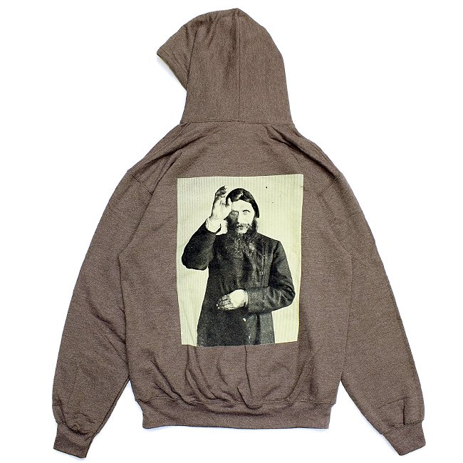 <img class='new_mark_img1' src='//img.shop-pro.jp/img/new/icons5.gif' style='border:none;display:inline;margin:0px;padding:0px;width:auto;' />THEORIES RASPUTIN PULLOVER HOODIE / HEATHER CHOCOLATE(セオリーズ フーディー/パーカー)