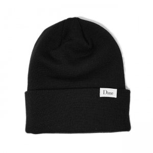 <img class='new_mark_img1' src='//img.shop-pro.jp/img/new/icons5.gif' style='border:none;display:inline;margin:0px;padding:0px;width:auto;' />DIME CLASSIC WOOL BEANIE / BLACK (ダイム ニットキャップ / ウールビーニー)