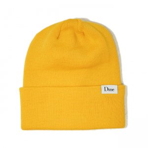 <img class='new_mark_img1' src='//img.shop-pro.jp/img/new/icons5.gif' style='border:none;display:inline;margin:0px;padding:0px;width:auto;' />DIME CLASSIC WOOL BEANIE / YELLOW (ダイム ニットキャップ / ウールビーニー)