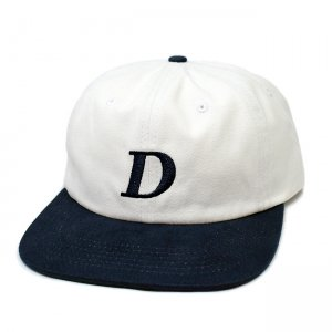 <img class='new_mark_img1' src='//img.shop-pro.jp/img/new/icons5.gif' style='border:none;display:inline;margin:0px;padding:0px;width:auto;' />DIME SNAPBACK CAP / WHITE&NAVY (ダイム キャップ / 6パネルキャップ)