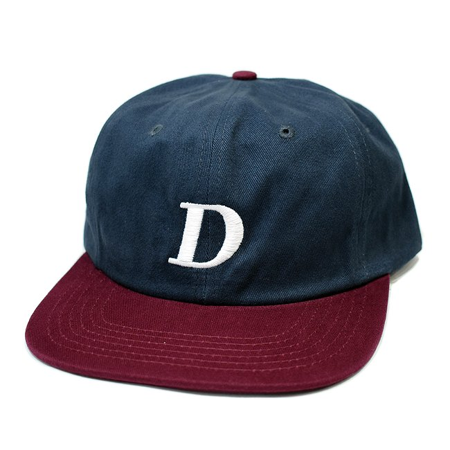 <img class='new_mark_img1' src='//img.shop-pro.jp/img/new/icons5.gif' style='border:none;display:inline;margin:0px;padding:0px;width:auto;' />DIME SNAPBACK CAP / NAVY&BURGUNDY (ダイム キャップ / 6パネルキャップ)