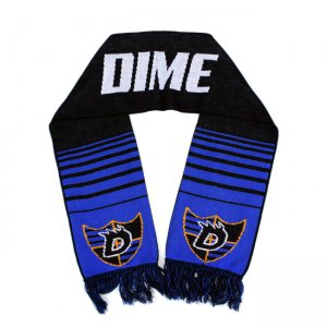 <img class='new_mark_img1' src='//img.shop-pro.jp/img/new/icons5.gif' style='border:none;display:inline;margin:0px;padding:0px;width:auto;' />【20% OFF】DIME SCARF / BLACK&BLUE (ダイム マフラー / スカーフ)