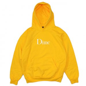<img class='new_mark_img1' src='//img.shop-pro.jp/img/new/icons5.gif' style='border:none;display:inline;margin:0px;padding:0px;width:auto;' />DIME CLASSIC LOGO HOODIE / GOLD (ダイム パーカー / スウェット)