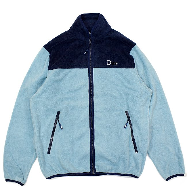 <img class='new_mark_img1' src='//img.shop-pro.jp/img/new/icons5.gif' style='border:none;display:inline;margin:0px;padding:0px;width:auto;' />DIME FLEECE JACKET / BLUE (ダイム フリース / ジャケット)
