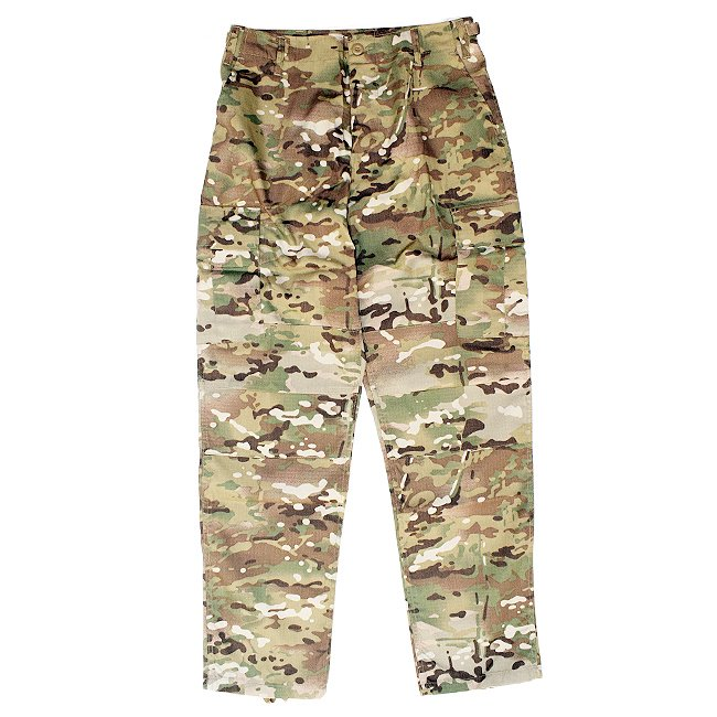 <img class='new_mark_img1' src='https://img.shop-pro.jp/img/new/icons55.gif' style='border:none;display:inline;margin:0px;padding:0px;width:auto;' />US MILITARY B.D.U PANTS / MULTI CAMO (カーゴパンツ)