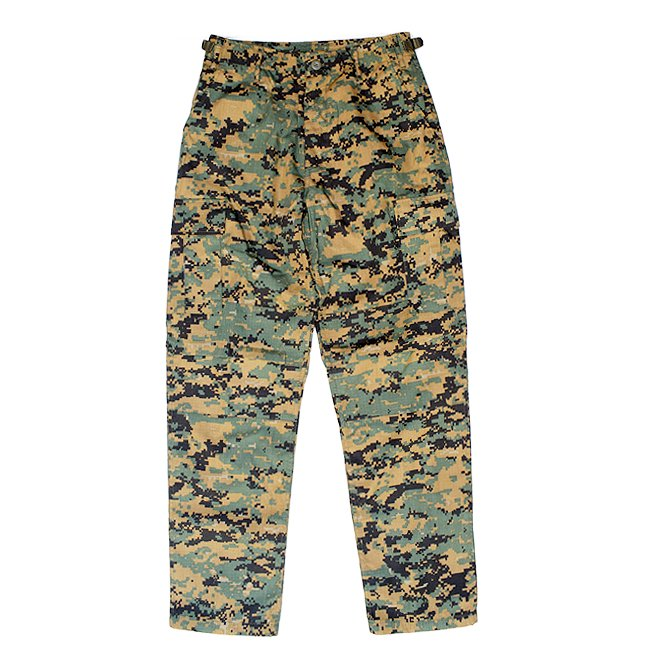 <img class='new_mark_img1' src='//img.shop-pro.jp/img/new/icons5.gif' style='border:none;display:inline;margin:0px;padding:0px;width:auto;' />US MILITARY B.D.U PANTS / MARPAT (カーゴパンツ)