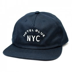 <img class='new_mark_img1' src='https://img.shop-pro.jp/img/new/icons5.gif' style='border:none;display:inline;margin:0px;padding:0px;width:auto;' />HOTEL BLUE HB ARCH CAP / NAVY (ホテルブルー キャップ)