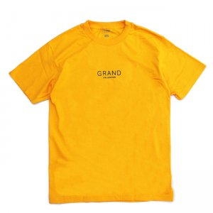 <img class='new_mark_img1' src='https://img.shop-pro.jp/img/new/icons5.gif' style='border:none;display:inline;margin:0px;padding:0px;width:auto;' />GRAND COLLECTION CORE TEE / GOLD (グランドコレクション Tシャツ / 半袖)