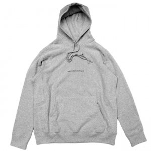 <img class='new_mark_img1' src='//img.shop-pro.jp/img/new/icons5.gif' style='border:none;display:inline;margin:0px;padding:0px;width:auto;' />GRAND COLLECTION NEW YORK HOODIE / HEATHER GREY (グランドコレクション スウェット/パーカー)