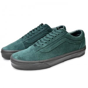 <img class='new_mark_img1' src='//img.shop-pro.jp/img/new/icons5.gif' style='border:none;display:inline;margin:0px;padding:0px;width:auto;' />VANS OLD SKOOL (BLACK OUTSOLE) DARKEST SPRUCE/BLACK(バンズ/ヴァンズ オールドスクール スニーカー)