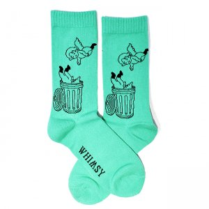 <img class='new_mark_img1' src='//img.shop-pro.jp/img/new/icons5.gif' style='border:none;display:inline;margin:0px;padding:0px;width:auto;' />HELLRAZOR × Whimsy God is everywhere SOCKS / GREEN (ヘルレイザー ソックス/ウィムジー 靴下)