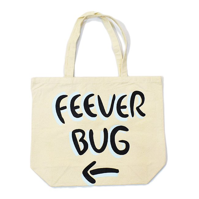 <img class='new_mark_img1' src='https://img.shop-pro.jp/img/new/icons5.gif' style='border:none;display:inline;margin:0px;padding:0px;width:auto;' />FEEVERBUG SIGNBOARD TOTE BAG / NATURAL (フィバーバグ トートバッグ)