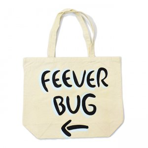 <img class='new_mark_img1' src='//img.shop-pro.jp/img/new/icons5.gif' style='border:none;display:inline;margin:0px;padding:0px;width:auto;' />FEEVERBUG SIGNBOARD TOTE BAG / NATURAL (フィバーバグ トートバッグ)