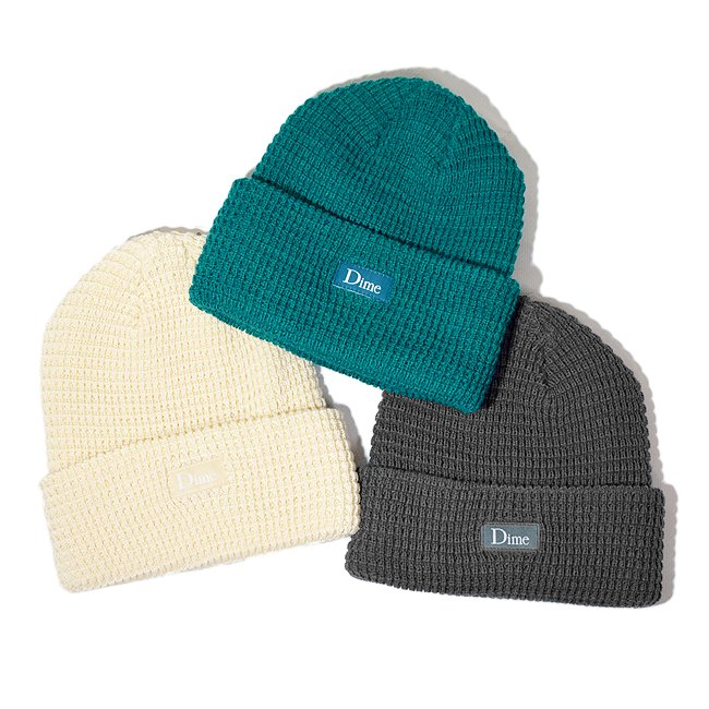 <img class='new_mark_img1' src='//img.shop-pro.jp/img/new/icons5.gif' style='border:none;display:inline;margin:0px;padding:0px;width:auto;' />DIME CLASSIC WAFFLE BEANIE / (ダイム ニットキャップ / ウールビーニー)