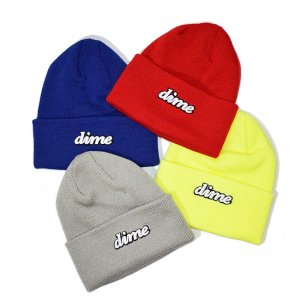 <img class='new_mark_img1' src='//img.shop-pro.jp/img/new/icons5.gif' style='border:none;display:inline;margin:0px;padding:0px;width:auto;' />DIME CURSIVE BEANIE / (ダイム ニットキャップ / ウールビーニー)