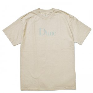 <img class='new_mark_img1' src='//img.shop-pro.jp/img/new/icons5.gif' style='border:none;display:inline;margin:0px;padding:0px;width:auto;' />DIME CLASSIC LOGO T-SHIRT / SAND (ダイム Tシャツ / 半袖)