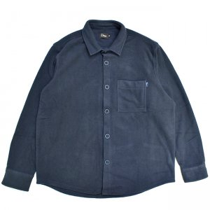 <img class='new_mark_img1' src='//img.shop-pro.jp/img/new/icons5.gif' style='border:none;display:inline;margin:0px;padding:0px;width:auto;' />DIME FLEECE BOTTON-UP SHIRT / NAVY (ダイム フリースシャツ / ジャケット)