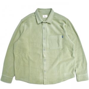 <img class='new_mark_img1' src='//img.shop-pro.jp/img/new/icons5.gif' style='border:none;display:inline;margin:0px;padding:0px;width:auto;' />DIME FLEECE BOTTON-UP SHIRT / GREEN (ダイム フリースシャツ / ジャケット)