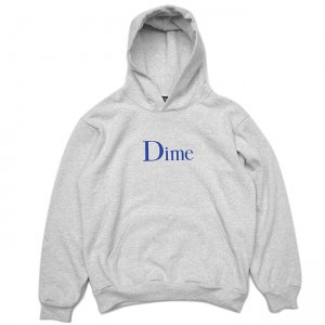<img class='new_mark_img1' src='//img.shop-pro.jp/img/new/icons5.gif' style='border:none;display:inline;margin:0px;padding:0px;width:auto;' />DIME CLASSIC LOGO HOODIE / ASH (ダイム パーカー / スウェット)