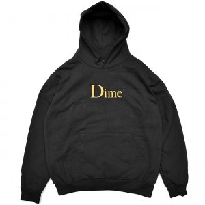 <img class='new_mark_img1' src='//img.shop-pro.jp/img/new/icons5.gif' style='border:none;display:inline;margin:0px;padding:0px;width:auto;' />DIME CLASSIC LOGO HOODIE / BLACK (ダイム パーカー / スウェット)
