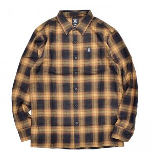 <img class='new_mark_img1' src='//img.shop-pro.jp/img/new/icons5.gif' style='border:none;display:inline;margin:0px;padding:0px;width:auto;' />HARDLUCK ASTRO SUPREME L/S FLANNEL SHIRT (ハードラック 長袖ネルシャツ)