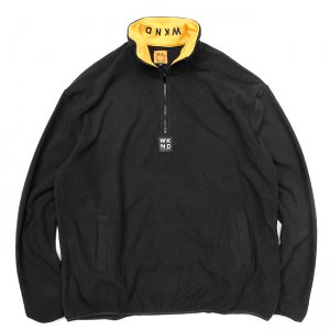 <img class='new_mark_img1' src='//img.shop-pro.jp/img/new/icons5.gif' style='border:none;display:inline;margin:0px;padding:0px;width:auto;' />WKND GREENWICH FLEECE JACKET / BLACK (ウィークエンド フリースジャケット)