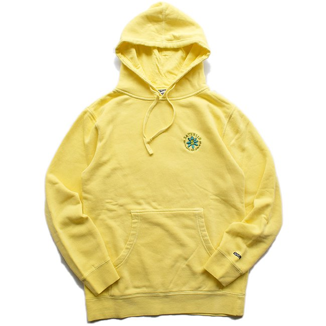 <img class='new_mark_img1' src='//img.shop-pro.jp/img/new/icons5.gif' style='border:none;display:inline;margin:0px;padding:0px;width:auto;' />SAYHELLO Embroidery Soul Garment Dyed Hoodie / Yellow (セイハロー パーカー/スウェット)