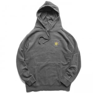<img class='new_mark_img1' src='//img.shop-pro.jp/img/new/icons5.gif' style='border:none;display:inline;margin:0px;padding:0px;width:auto;' />SAYHELLO Embroidery Soul Garment Dyed Hoodie / Black (セイハロー パーカー/スウェット)